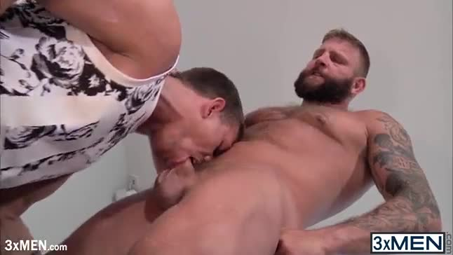 Gay twinks shaving hairy men when he