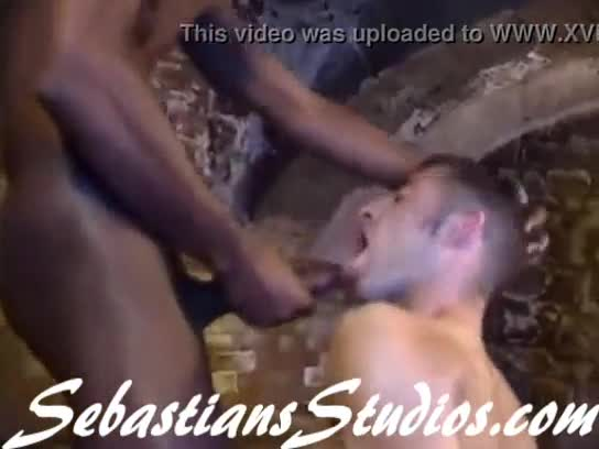 Sexy light skin black guys gang bang white twink young
